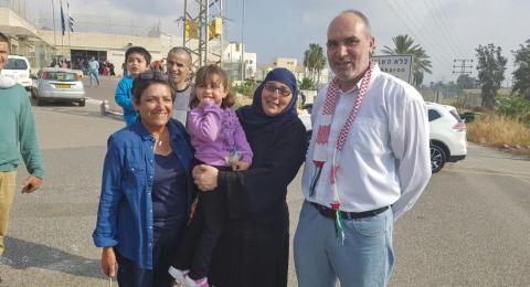 بالتزامن مع يوم الأسير: اطلاق سراح الأسيرة لينا الجربوني