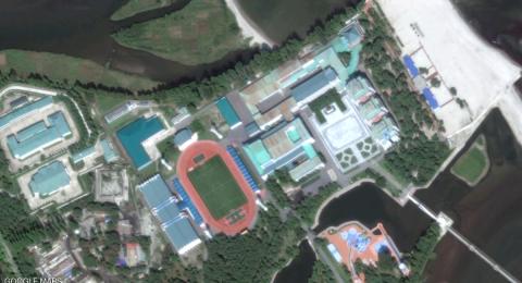 صور فضائية ترصد المنتجع السري لزعيم كوريا الشمالية