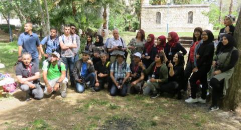 ملتقى مصوروا عرب 48 في جولة سياحية الى شمال البلاد