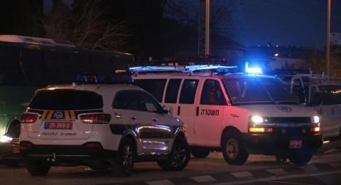 إصابة شاب بجراح بالغة  والشرطة تباشر التحقيق .. في النقب