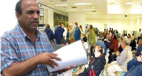 أبو احمد: تنظيم اماكن العمل ومحاربة البطالة في الوسط العربي يتطلبان التكاتف والجهود المشتركة