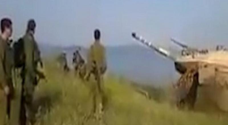 اسرائيل تقصف مواقع شمال هضبة الجولان السورية