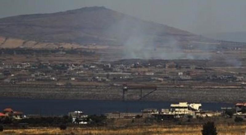 سقوط قذيفة هاون من سوريا بمنطقة الجولان