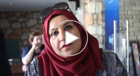 جمانة زيدان استأصلت الورم، واعتبرت المرض هدية من الله