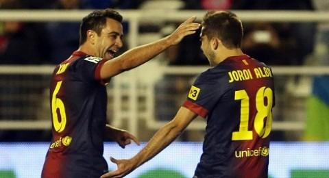 البرشلونة يواصل انتصارته ويفوز على بلد الوليد (3-1)