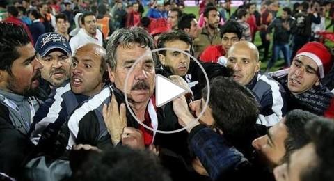 كوميديا الدوري الإيراني فريقان يحتفلان بالفوز بالدوري !