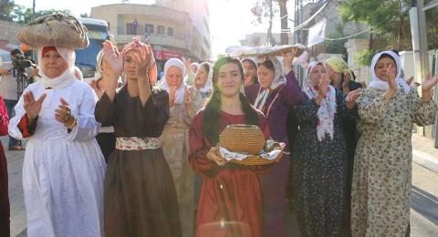 مؤسسة انماء تشارك في مهرجان التراث الثامن في بيرزيت