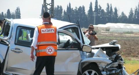 ارتفاع في عدد القتلى العرب في حوادث الطرق مقارنة بالعام الماضي