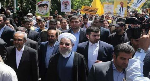 مظاهرات حاشدة في إيران ودول عديدة بمناسبة