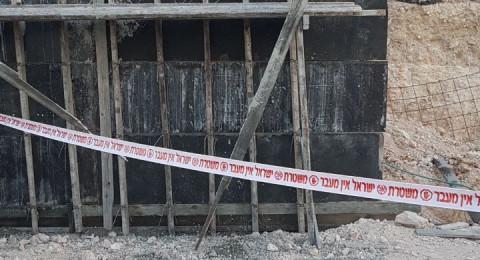 دبورية: حادث واصابة عامل بالغة