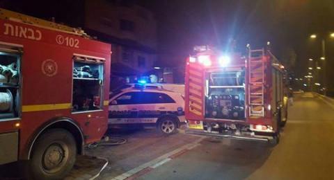 انفجار في مصنع للأسلحة في رمات هشارون