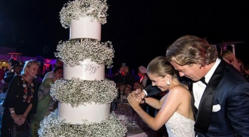 زفاف أسطوري لوريثة «سواروفسكي»