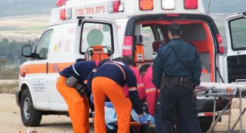 اصابات بالغة في حادث طرق على شارع 60