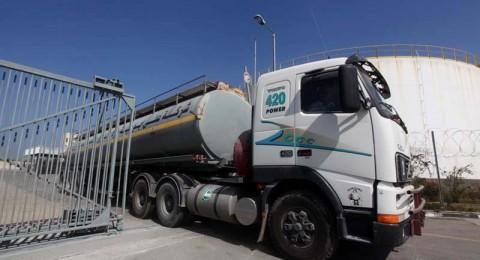 إسرائيل تجمّد  ضخ البنزين والسولار لغزة