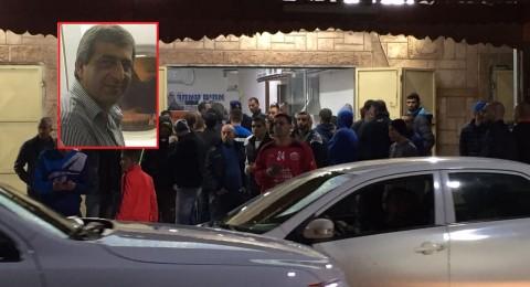 كفرقاسم: مصرح حكمت عامر متأثرًا بجراحة بعد أن اصيب بعيار ناري أمس