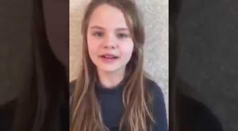طفلة أوكرانية تتلو القرآن وتحظى بنسبة مشاهدة عالية!