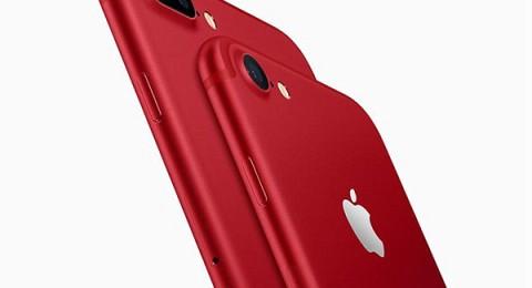 آبل تطلق رسمياً آيفون 7 باللون الأحمر