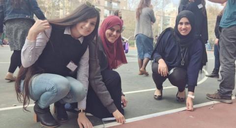 مشاركة طلاب مسار الممتازين من القاسمي في مؤتمر هام بمدينة حولون