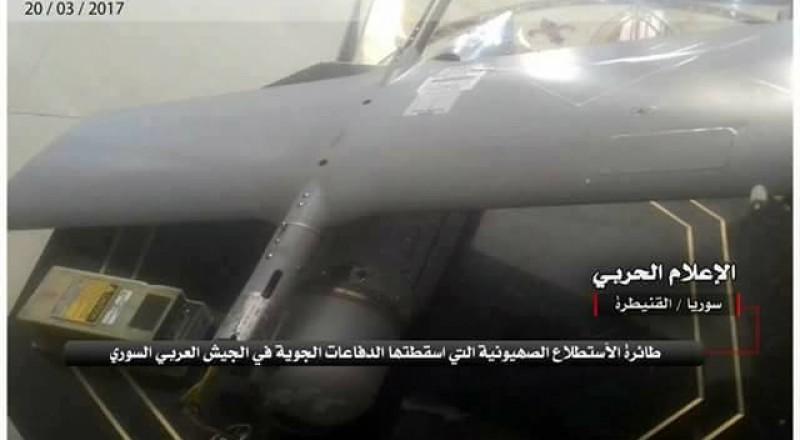 الجيش السوري يسقط طائرة استطلاع إسرائيلية قرب القنيطرة