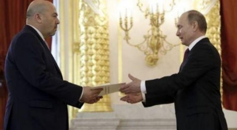 موسكو توضح سبب استدعاء السفير الإسرائيلي على خلفية غارة تدمر