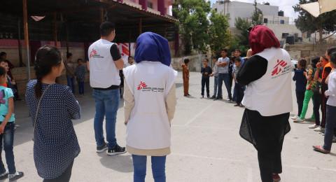 منظمة أطباء بلا حدود تقيم فعاليات للصحة النفسية المجتمعية في قرية السموع