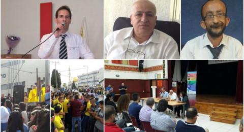 احتجاجات دبورية تنجح بإقالة مدير الاعدادية سعيد عودة وتسليم الإدارة لمدير الثانوية فريد يوسف