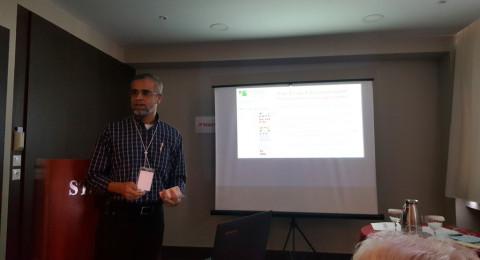 د. خالد أسعد يمثل أكاديمية القاسمي ويشارك في مؤتمر دولي في أثينا
