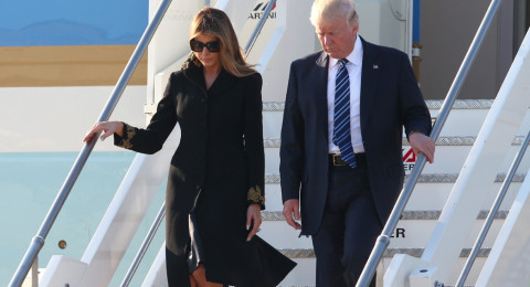 ميلانيا تحرج زوجها مرة أخرى.. كيف كان رد فعل ترامب؟