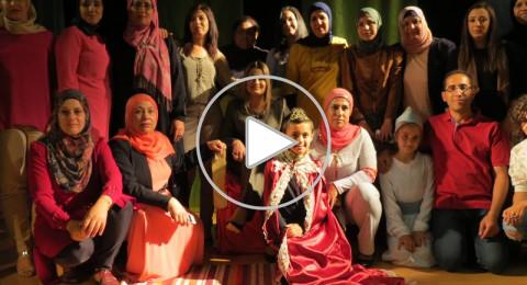 تألق أطفال مدرسة ابن رشد الابتدائية على خشبة مسرح مركز محمود درويش الثقافي عرابة