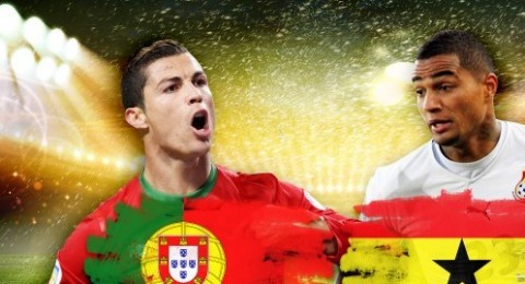 البرتغال تفوز على غانا وتودعان المونديال