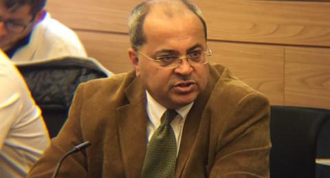 الطيبي يستجوب وزير الأمن الداخلي حول اعتقال سليمان اغبارية: سياسات الترهيب لن تثنينا