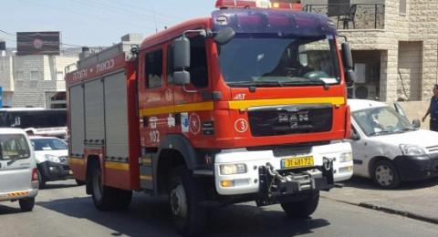 حريق يلتهم 5 سيارات في شفاعمرو