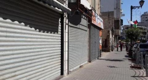 اضراب شامل في الضفة وغزة اليوم دعمًا للأسرى