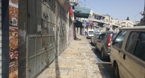 الاضراب الشامل يعم مدينة القدس تضامنا مع الاسرى