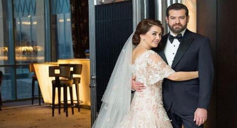 كندة علوش تكشف حقيقة ارتدائها فستان زفاف جدتها!
