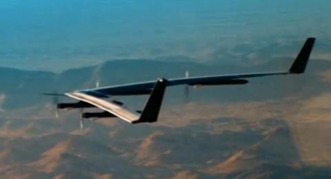 انطلاق أول طائرة شمسية لنشر الإنترنت