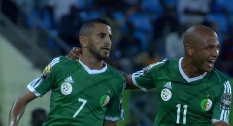 الجزائر يفوز على السنغال (2-0) ويتأهل للربع نهائي