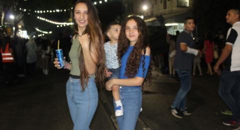 حضور واسع في مسيرة عيد الفطر في الناصرة