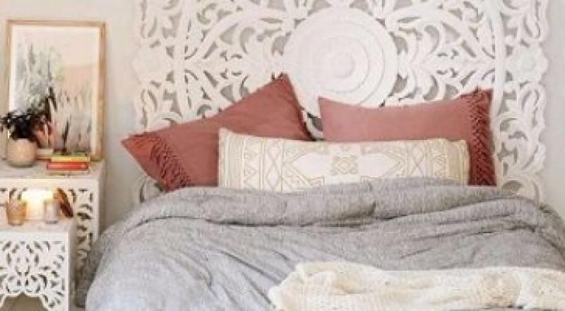 بالصور:غرف نوم باللون الأبيض لعشاق الأناقة والهدوء