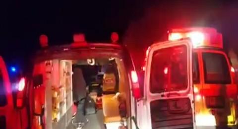 الجولان: حادث طرق خطير قرب مجدل شمس