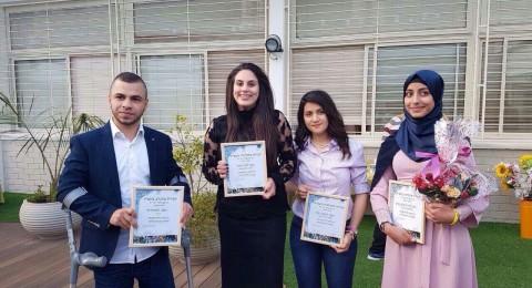 الطالبة راما جبارين: تكريمي جاء على اثر تطوّعي، وأدعو للتطوّع