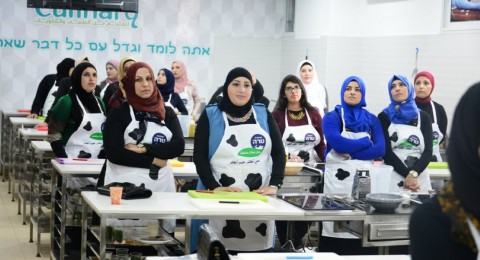 محلبة طارة تنظم ورشات للطهي الصحي بقيادة الماستير شيف نوف عثامنة اسماعيل وتزور مدينة الطيرة