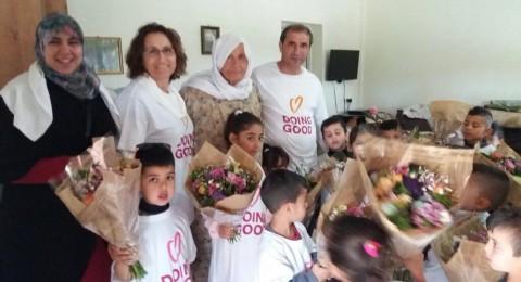 الأعمال الخيرية تُزين عين حوض وتعزز روح الانتماء لدى الطلاب