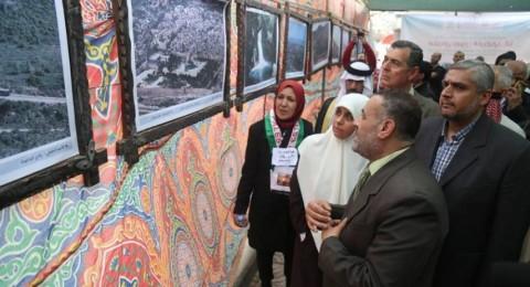 معرض صور في غزة بذكرى يوم الأرض