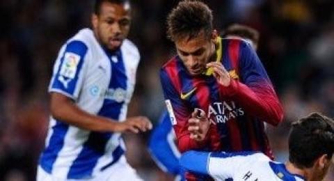 برشلونة يحسم ديربي كاتالونيا بفوزه الصعب على اسبانيول