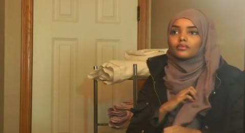 أول محجبة تشارك في مسابقة جمال في أميركا