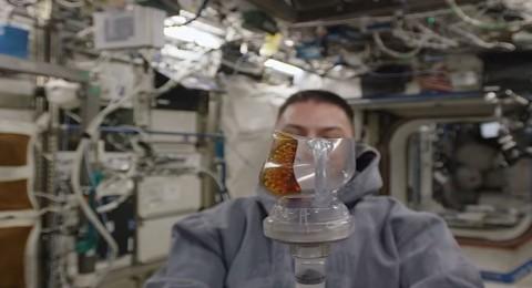 كيف يتم تحضير القهوة في الفضاء.
