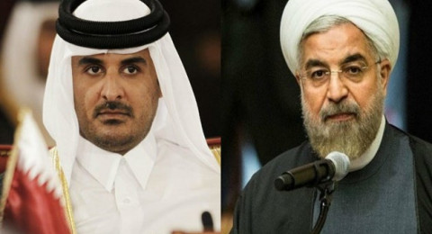 مغازلات بين إيران وقطر