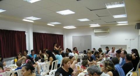 نساء وادي الجمال يجهزن افطار رمضاني فاخر بمركز كلور شعبة مركز جماهيري ليؤبيك