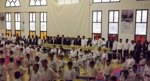 البطولة  العاشرة لرابطة الكراتية التقليدي في سخنبن